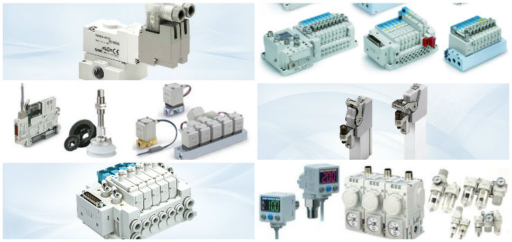 SMC Pneumatics Products