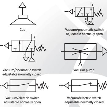 Pneumatic Schematic Symbol Vacuum Air Wire Center