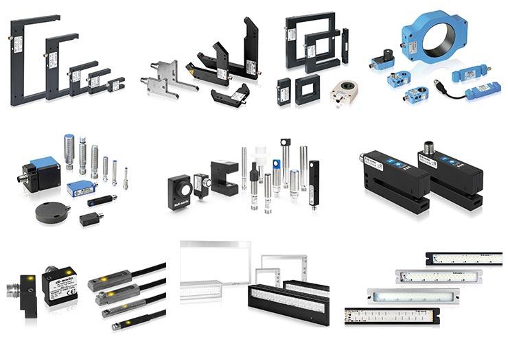 PSI di-soric sensors range overview